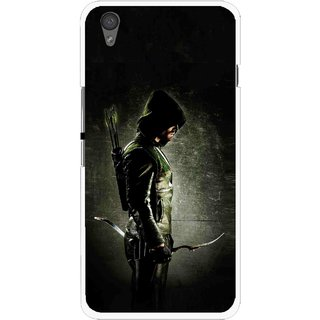 Snooky Printed Hunting Man Mobile Back Cover For One Plus X - Black