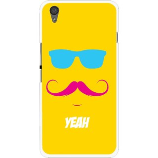 Snooky Printed Yeah Mobile Back Cover For One Plus X - Yellow