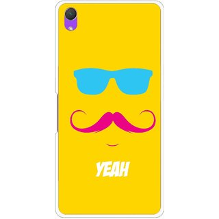 Snooky Printed Yeah Mobile Back Cover For Sony Xperia Z2 - Yellow