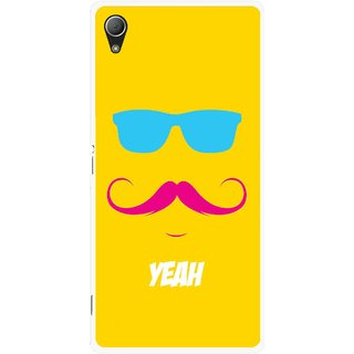 Snooky Printed Yeah Mobile Back Cover For Sony Xperia Z3 - Yellow