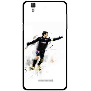 Snooky Printed Pass Me Mobile Back Cover For Coolpad Dazen F2 - White
