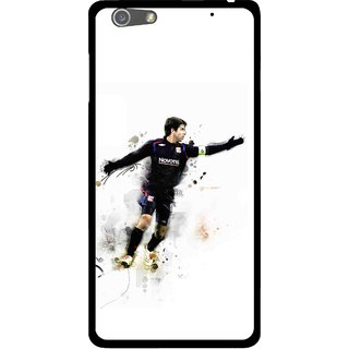 Snooky Printed Pass Me Mobile Back Cover For Oppo R1 - White