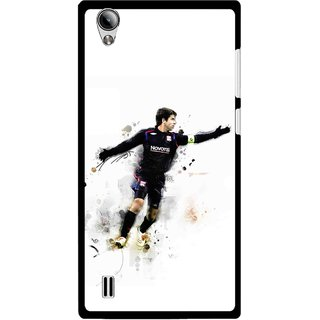 Snooky Printed Pass Me Mobile Back Cover For Vivo Y15 - White