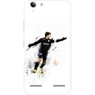 Snooky Printed Pass Me Mobile Back Cover For Lenovo Vibe K5 Plus - White