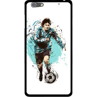 Snooky Printed Have To Win Mobile Back Cover For Oppo R1 - White