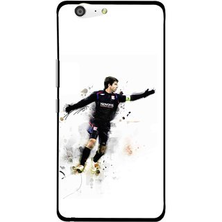 Snooky Printed Pass Me Mobile Back Cover For Gionee Marathon M5 - White