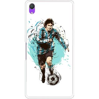 Snooky Printed Have To Win Mobile Back Cover For Sony Xperia Z2 - White