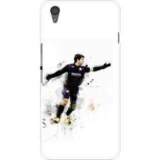 Snooky Printed Pass Me Mobile Back Cover For One Plus X - White