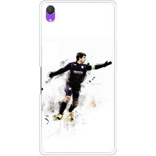 Snooky Printed Pass Me Mobile Back Cover For Sony Xperia Z2 - White