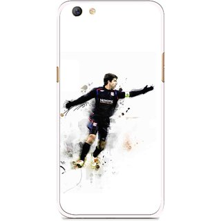 Snooky Printed Pass Me Mobile Back Cover For Oppo F3 plus - White