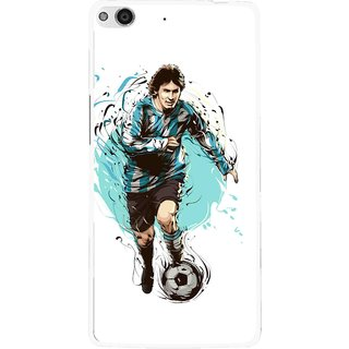 Snooky Printed Have To Win Mobile Back Cover For Gionee Elife E6 - White