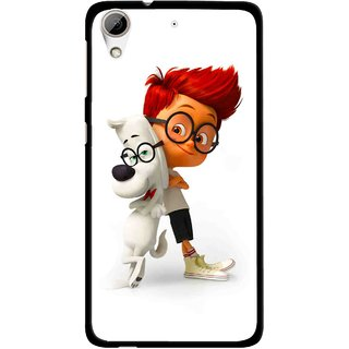 Snooky Printed My Friend Mobile Back Cover For HTC Desire 626 - White