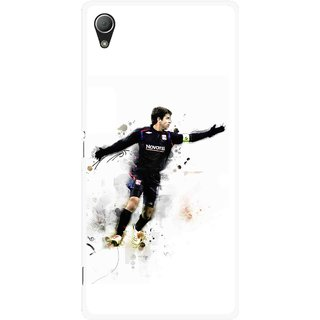 Snooky Printed Pass Me Mobile Back Cover For Sony Xperia Z3 - White