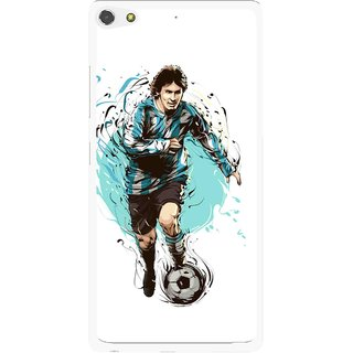 Snooky Printed Have To Win Mobile Back Cover For Gionee Elife S7 - White