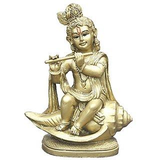 Shanku Krishna Brass Finish