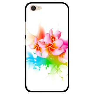 Snooky Printed Colorfull Flowers Mobile Back Cover For Vivo V5 Plus - Multi