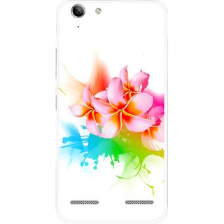 Snooky Printed Colorfull Flowers Mobile Back Cover For Lenovo Vibe K5 Plus - Multi