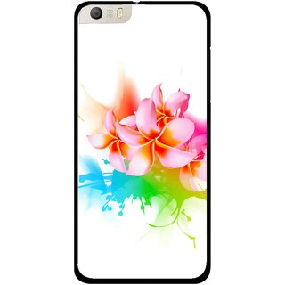Snooky Printed Colorfull Flowers Mobile Back Cover For Micromax Canvas Knight 2 E471 - Multi