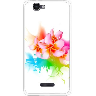 Snooky Printed Colorfull Flowers Mobile Back Cover For Micromax Canvas 2 A120 - Multi