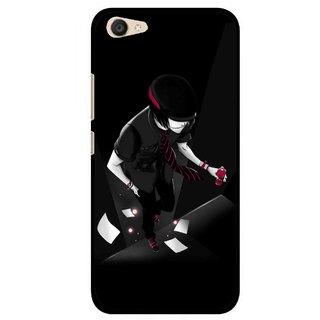 Snooky Printed Hep Boy Mobile Back Cover For Vivo V5 Plus - Black