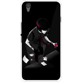 Snooky Printed Hep Boy Mobile Back Cover For One Plus X - Black