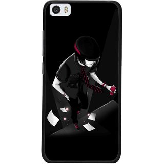 Snooky Printed Hep Boy Mobile Back Cover For Xiaomi Mi5 - Black