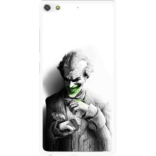 Snooky Printed Wilian Mobile Back Cover For Gionee Elife S7 - White