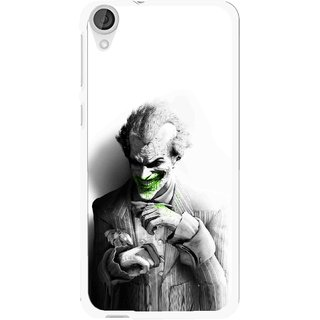 Snooky Printed Wilian Mobile Back Cover For HTC Desire 820 - White