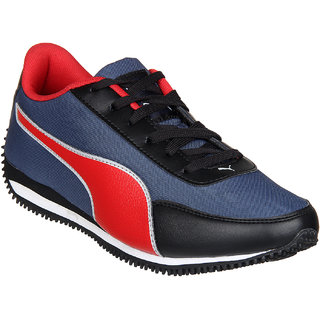 Puma Black Blue Running Shoes For Men