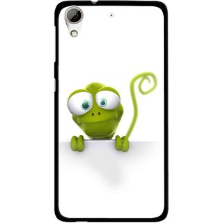Snooky Printed Seeking Alien Mobile Back Cover For HTC Desire 626 - White