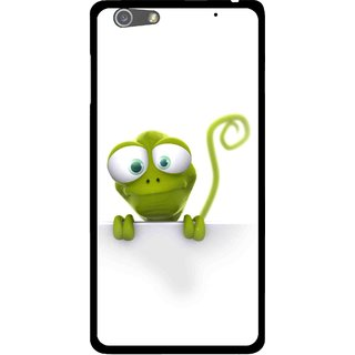 Snooky Printed Seeking Alien Mobile Back Cover For Oppo R1 - White