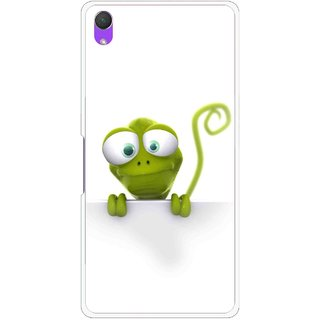Snooky Printed Seeking Alien Mobile Back Cover For Sony Xperia Z2 - White
