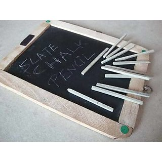 White Slate Pencils/Chalk pencil (20 pencils)