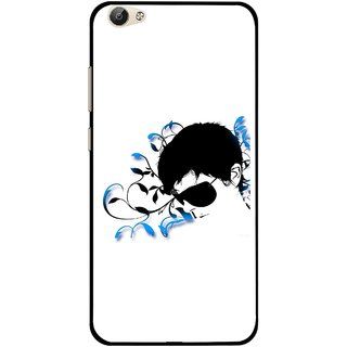 Snooky Printed Stylo Man Mobile Back Cover For Vivo Y55 - Multi