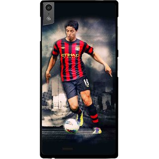 Snooky Printed Football Mania Mobile Back Cover For Gionee Elife S5.5 - Multi