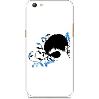 Snooky Printed Stylo Man Mobile Back Cover For Oppo F3 plus - Multi