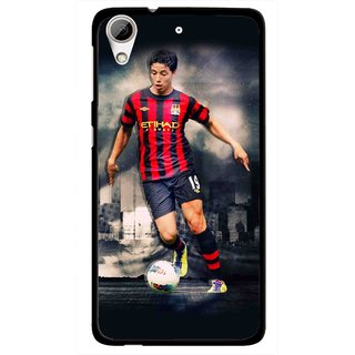 Snooky Printed Football Mania Mobile Back Cover For HTC Desire 626 - Multi