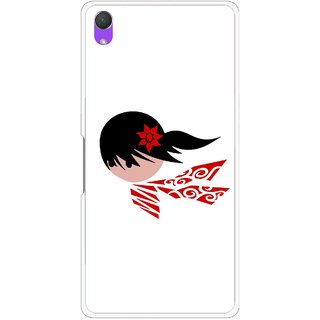 Snooky Printed Caty Girl Mobile Back Cover For Sony Xperia Z2 - Multi
