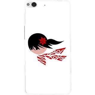 Snooky Printed Caty Girl Mobile Back Cover For Gionee Elife E6 - Multi