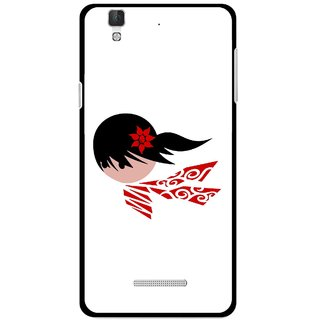 Snooky Printed Caty Girl Mobile Back Cover For Coolpad Dazen F2 - Multi