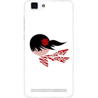 Snooky Printed Caty Girl Mobile Back Cover For Vivo X5 Max - Multi