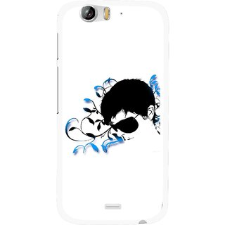 Snooky Printed Stylo Man Mobile Back Cover For Micromax Canvas Turbo A250 - Multi
