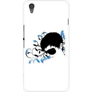 Snooky Printed Stylo Man Mobile Back Cover For One Plus X - Multi