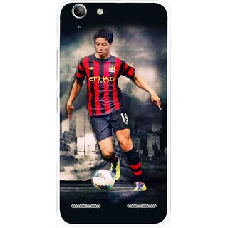 Snooky Printed Football Mania Mobile Back Cover For Lenovo Vibe K5 Plus - Multi