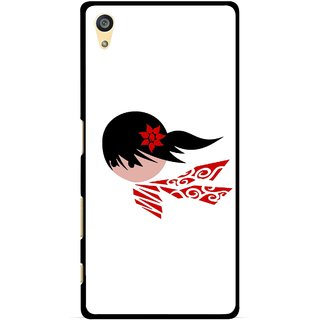 Snooky Printed Caty Girl Mobile Back Cover For Sony Xperia Z5 Plus - Multi