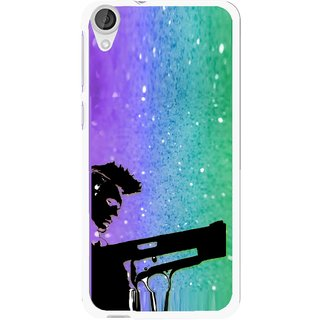 Snooky Printed Sparkling Boy Mobile Back Cover For HTC Desire 820 - Multi