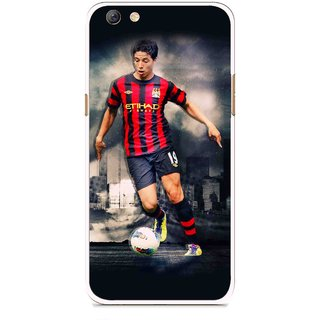 Snooky Printed Football Mania Mobile Back Cover For Oppo F3 plus - Multi