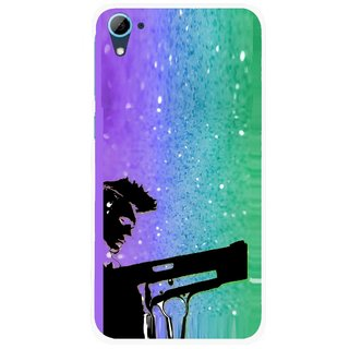 Snooky Printed Sparkling Boy Mobile Back Cover For HTC Desire 826 - Multi