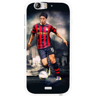 Snooky Printed Football Mania Mobile Back Cover For Micromax Canvas Turbo A250 - Multi