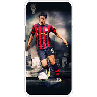 Snooky Printed Football Mania Mobile Back Cover For One Plus X - Multi
